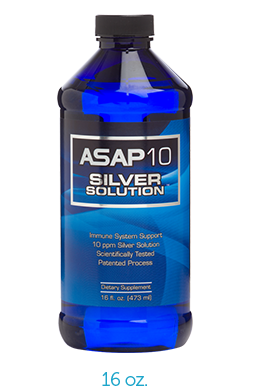 ASAP10 16oz Silver Solution